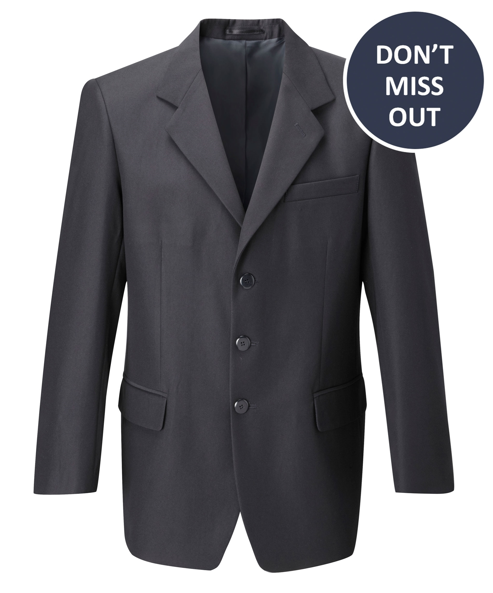 Picture of Male EasyCare Jacket - Navy