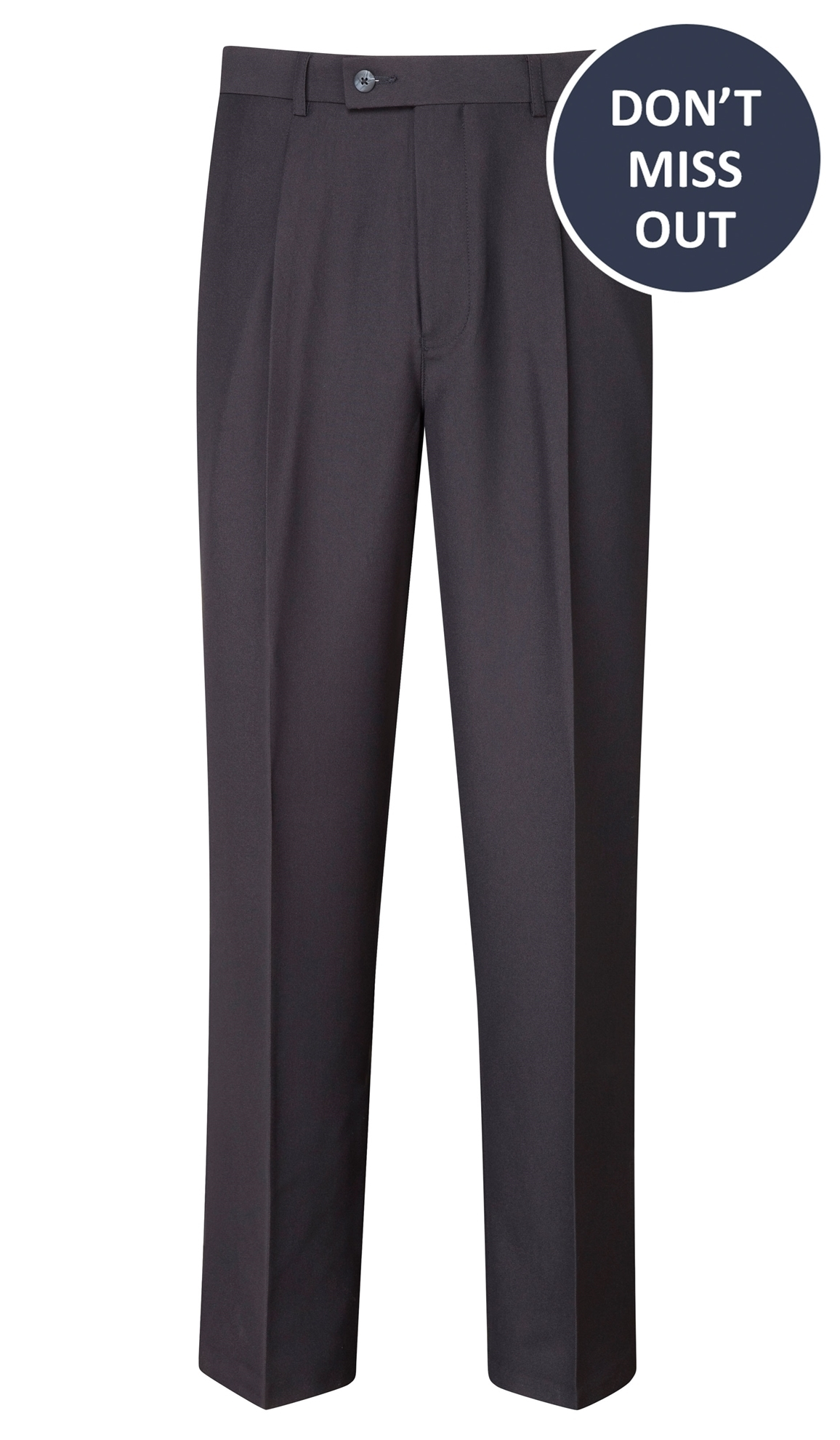 Picture of Male Easycare Trousers - Navy
