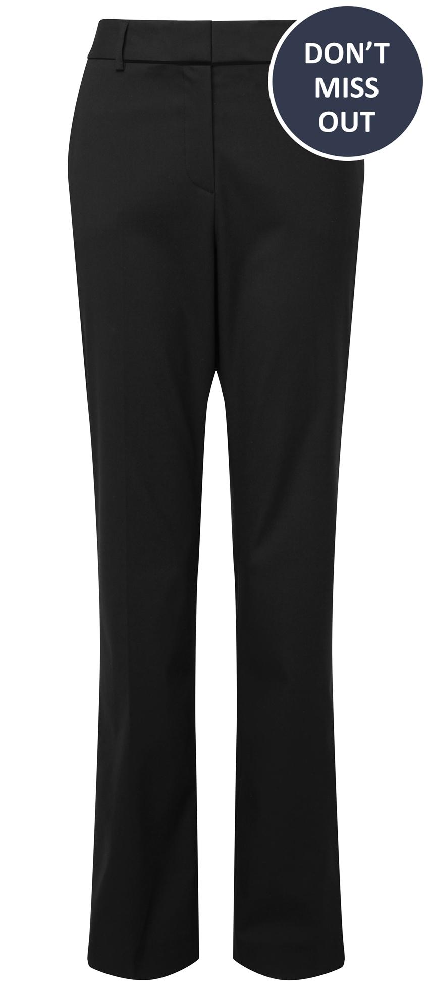 Picture of Straight Leg Trouser - Black