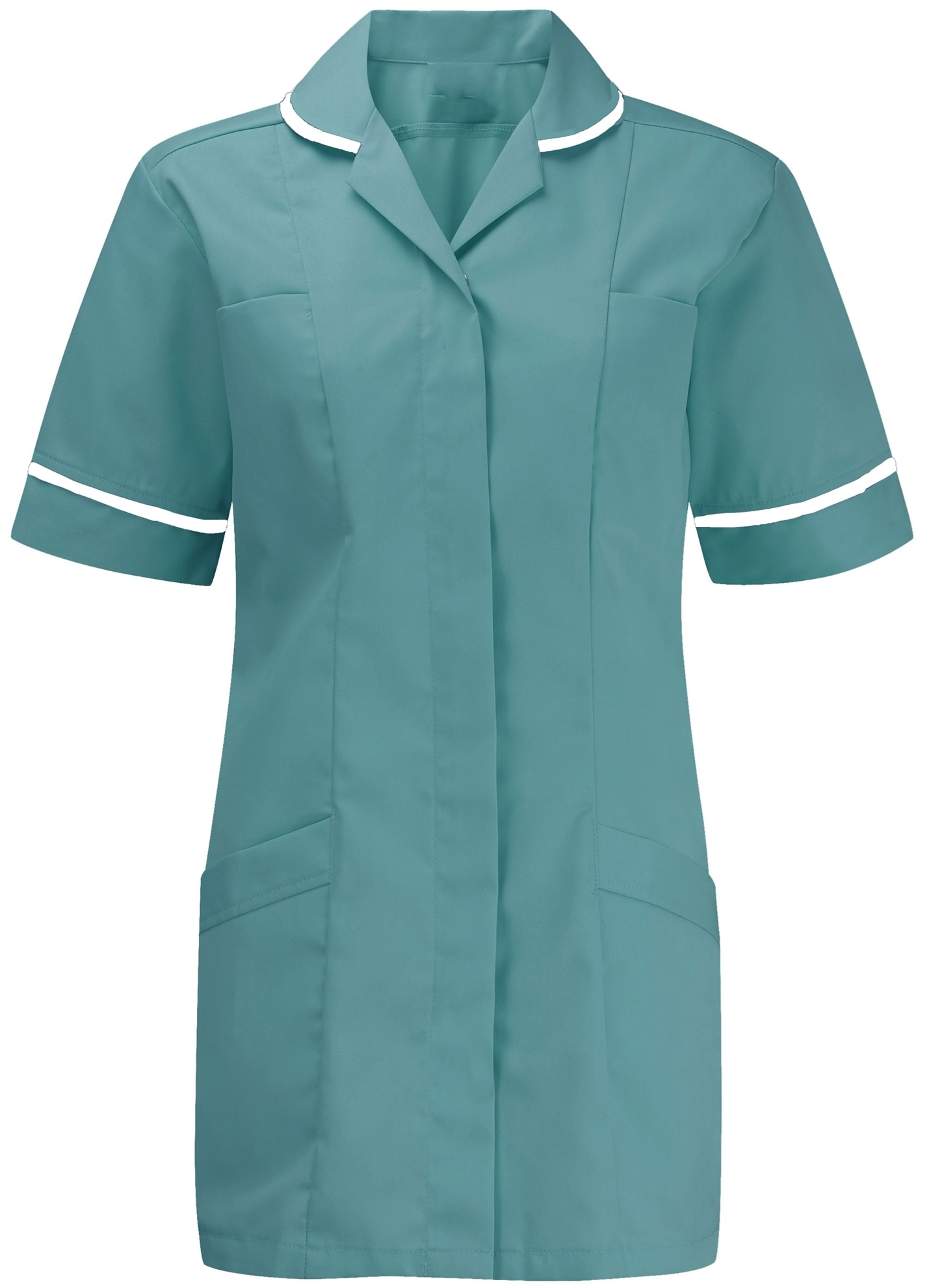 Picture of Advantage Tunic - Turquoise/White