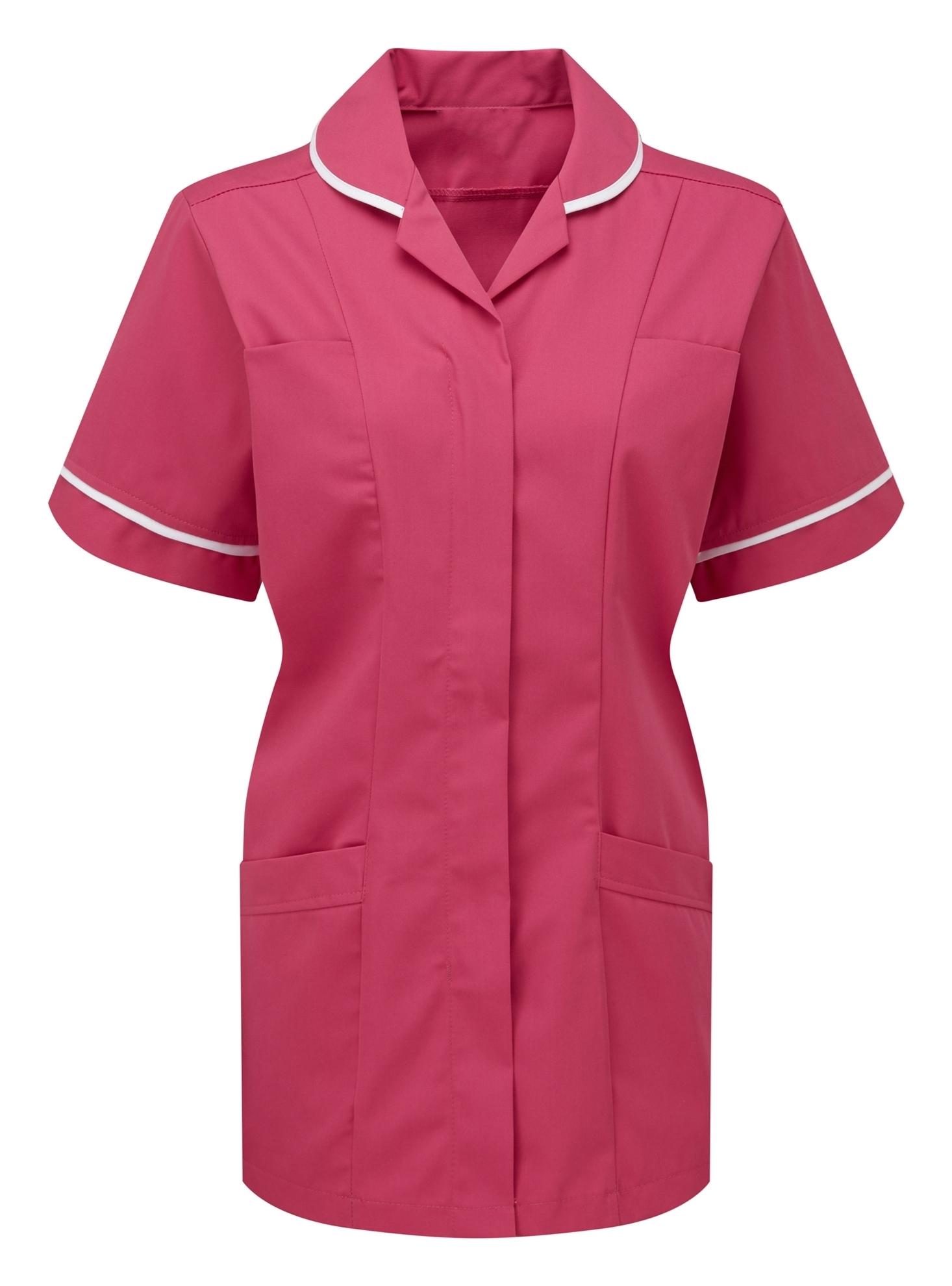Picture of Advantage Tunic - Bright Pink/White