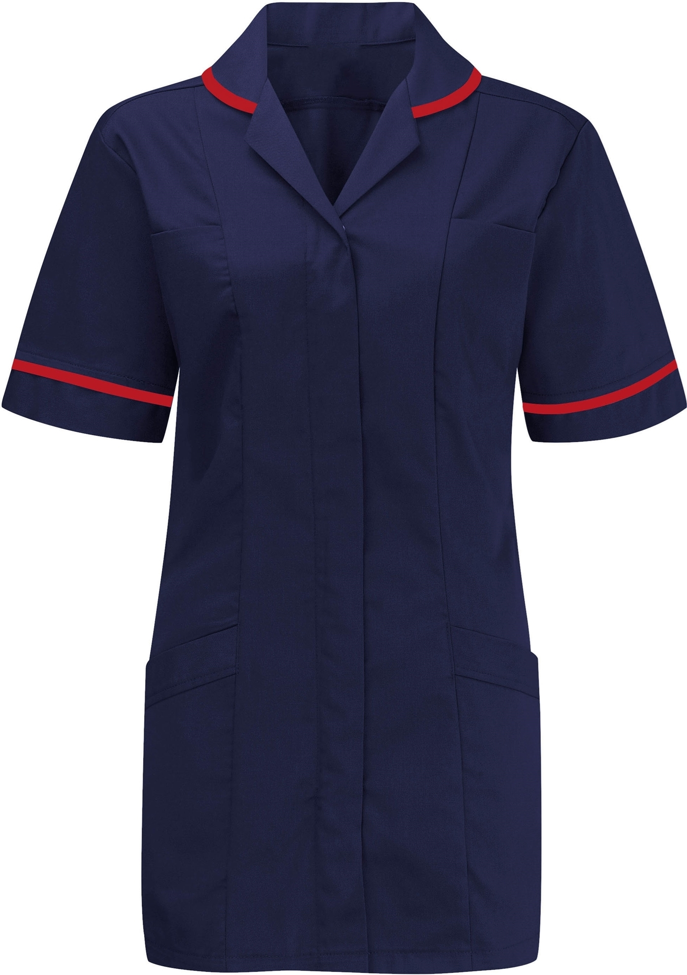 Picture of Advantage Tunic - Navy/Red