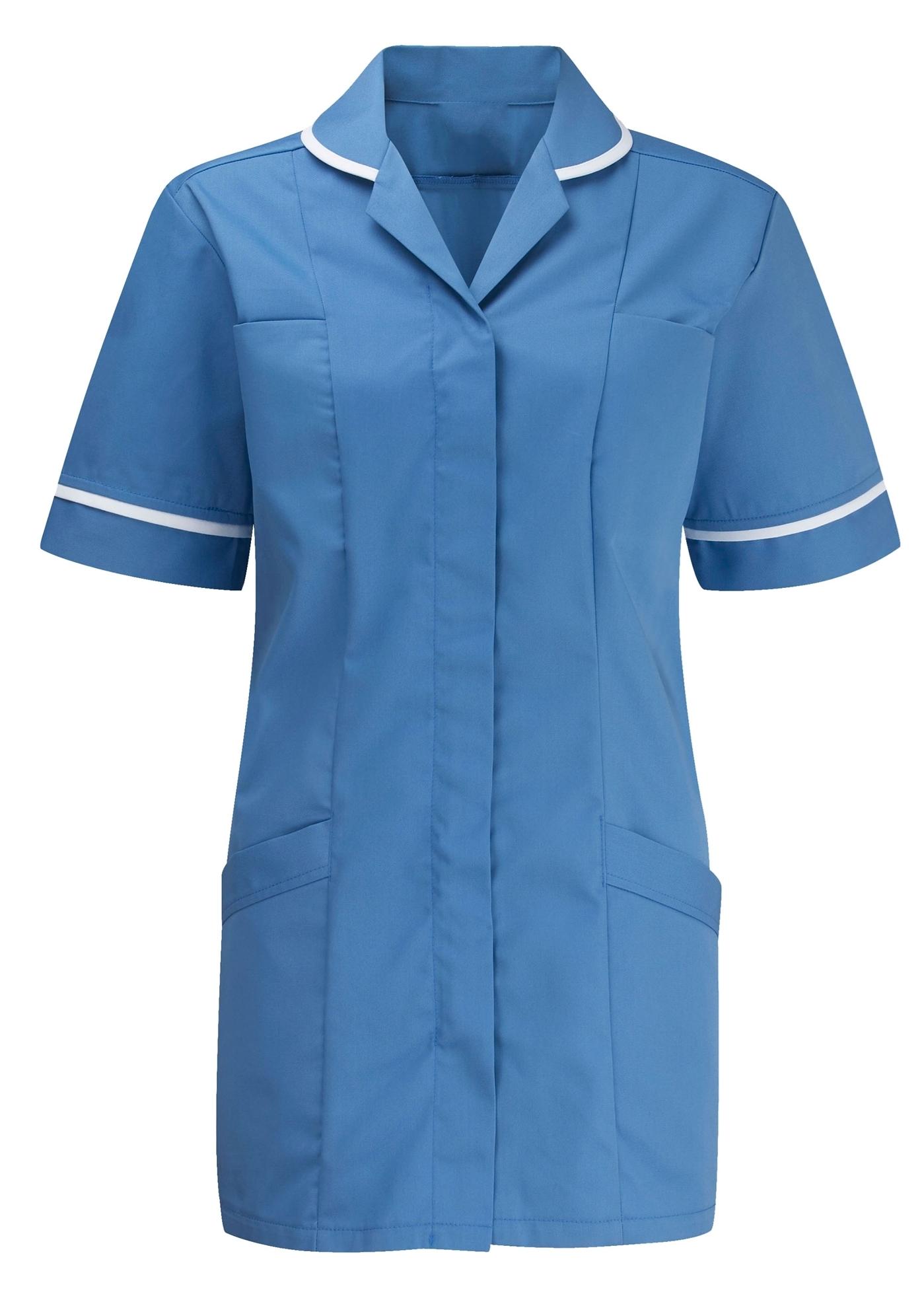 Picture of Advantage Tunic - Hospital Blue/White